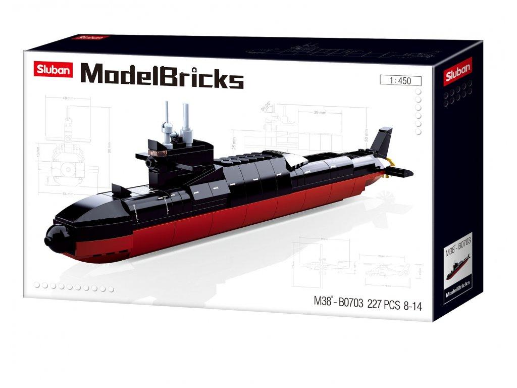 Sluban Modely M38-B0703 Ponorka