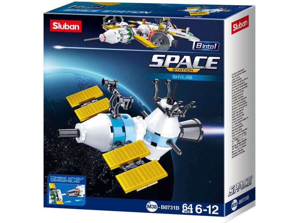 Sluban Space 8into1 M38-B0731B Satelit B