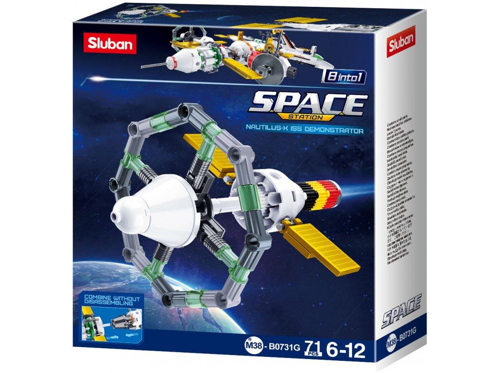 Sluban Space 8into1 M38-B0731G Satelit G