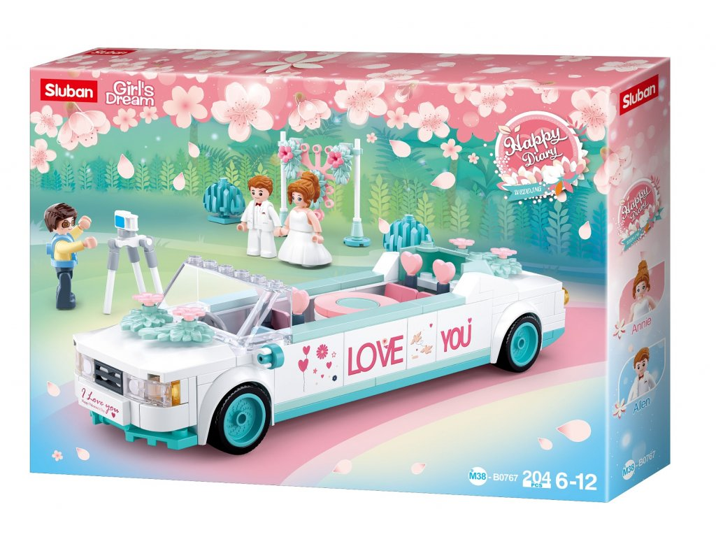 Sluban Girls Dream M38-B0767 Svatební limuzína