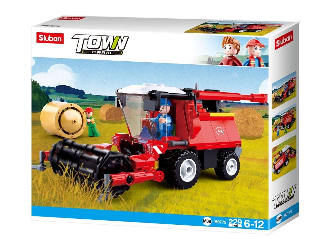 Sluban Town Farma M38-B0779 Kombajn