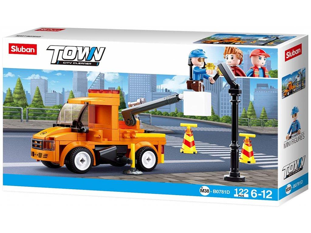 Sluban Town M38-B0781D Opravářský vůz