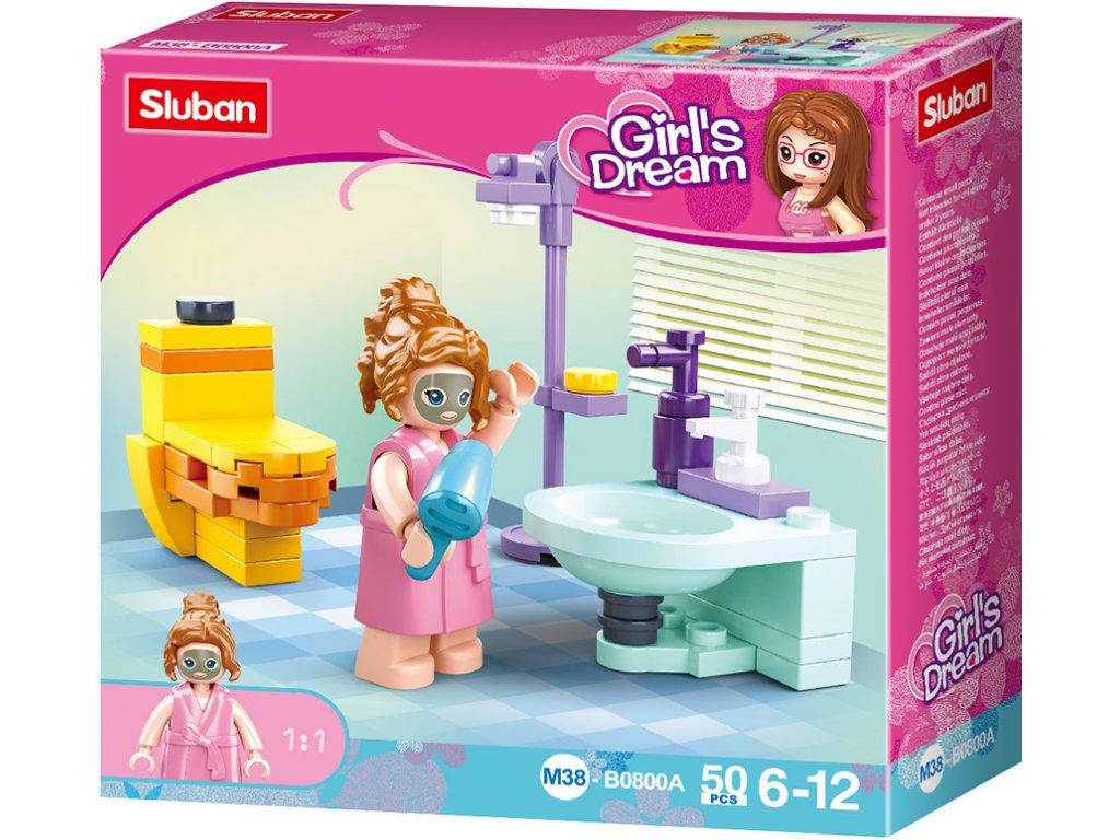 Sluban Girls Dream M38-B0800A Koupelna