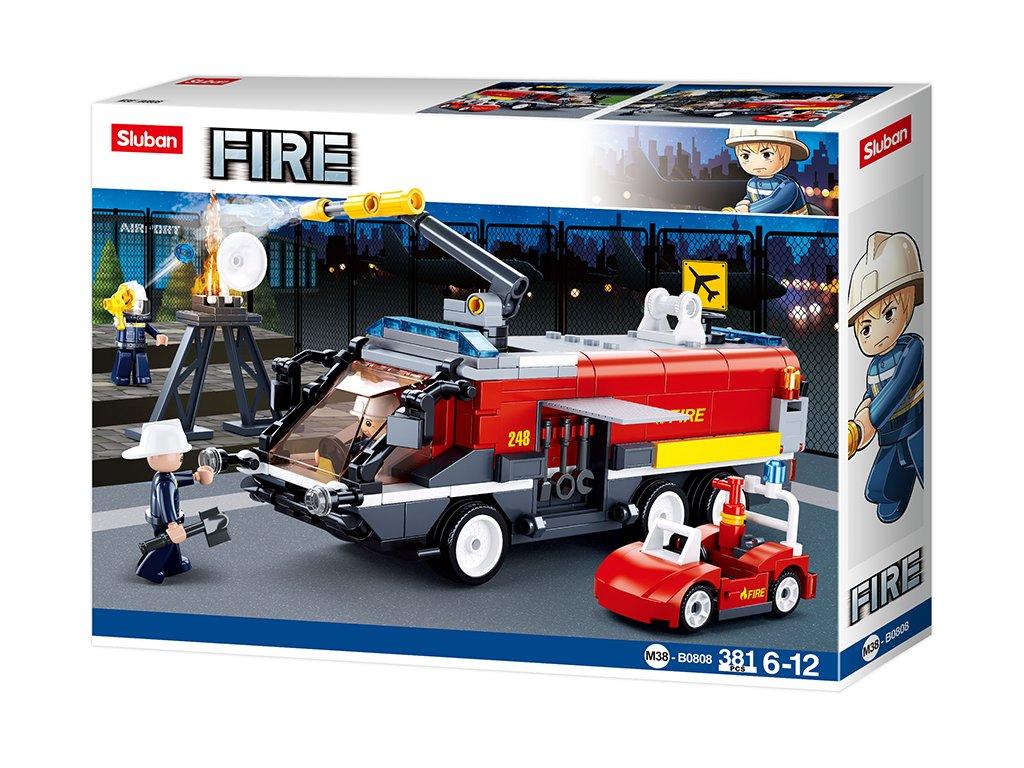 Sluban Hasiči M38-B0808 Letištní hasičský vůz