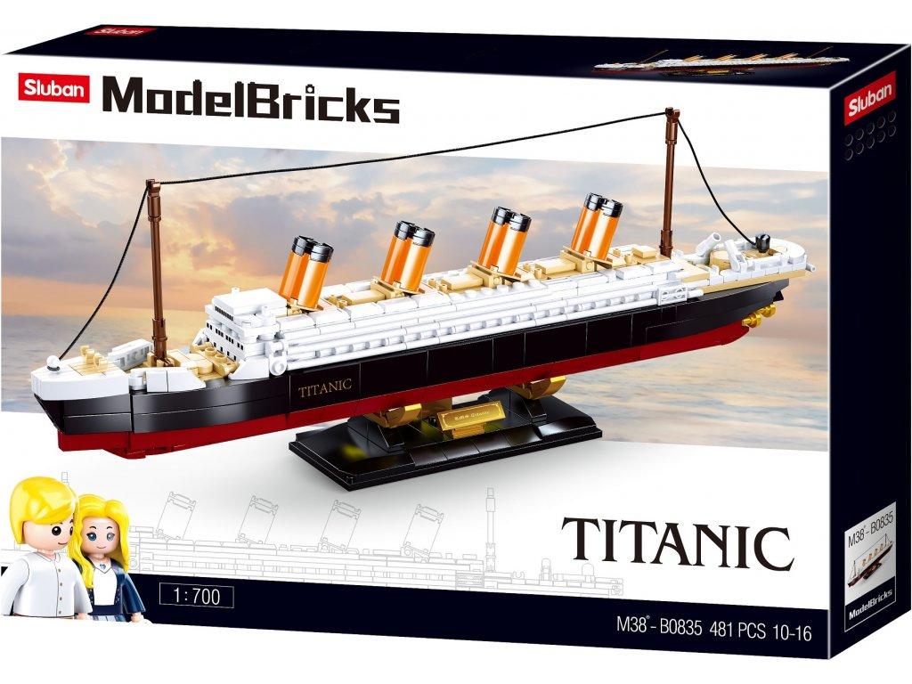 Sluban Model Bricks M38-B0835 Titanic 1:700