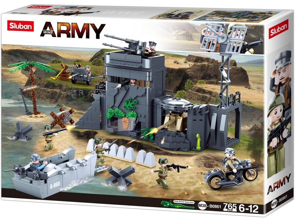 Sluban Army N38-B0861 Atlantický val - vylodění Spojenců