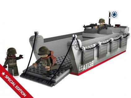 Sluban WWII M38-70070 Vyloďovací člun