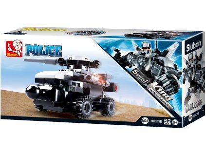 Sluban Builder M38-B0635E Člun King of Police 6 into 1