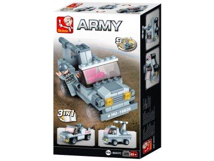 Sluban Army 9into1 M38-B0537C Raketomet 3v1