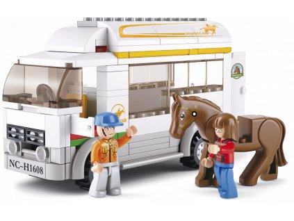 Sluban Town Farma M38-B0559 Vůz pro přepravu koní