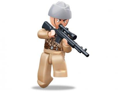 Sluban ARMY Figurky M38-B0582B  WW2 Sovětský voják