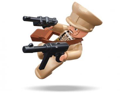 Sluban ARMY Figurky M38-B0582C WW2 Sovětský voják