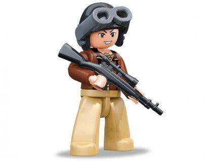 Sluban ARMY Figurky M38-B0582F WW2 Americký voják