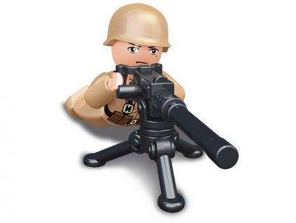 Sluban ARMY Figurky M38-B0582H WW2 Francouzký voják