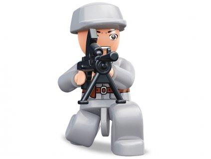Sluban ARMY Figurky M38-B0582L WW2 Čínský voják