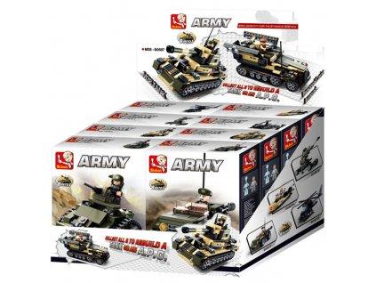 Sluban ARMY 8into1 M38-B0587 Tank nebo Obrněný transportér