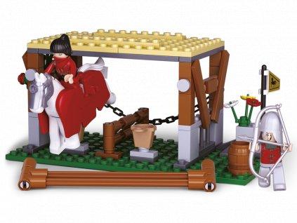 Sluban Legendární bojovníci M38-B0611 Zlodějka koní
