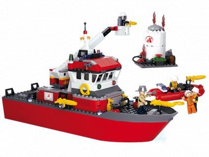 Sluban Hasiči M38-B0630 Záchtranná loď