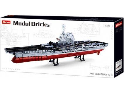 Sluban Modely M38-B0698 Letadlová loď