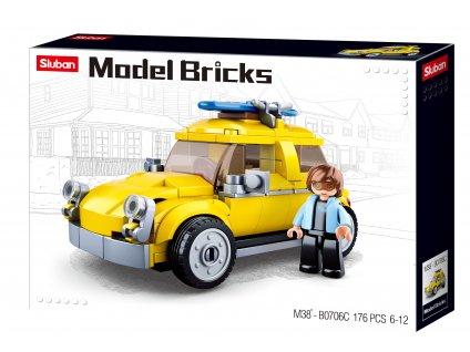 Sluban Model Bricks M38-B0706C Volksauto