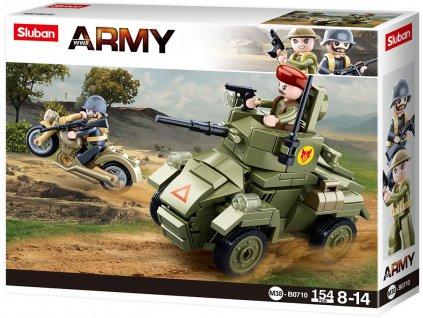 Sluban Army M38-B0710 Malý obrbněný vůz