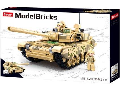 Sluban Model Bricks M38-B0790 Hlavní Bitevní tank 2v1