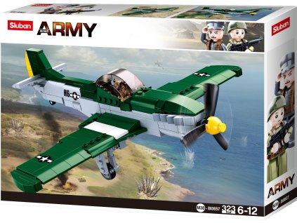Sluban Army N38-B0857 Spojenecký stíhací letoun