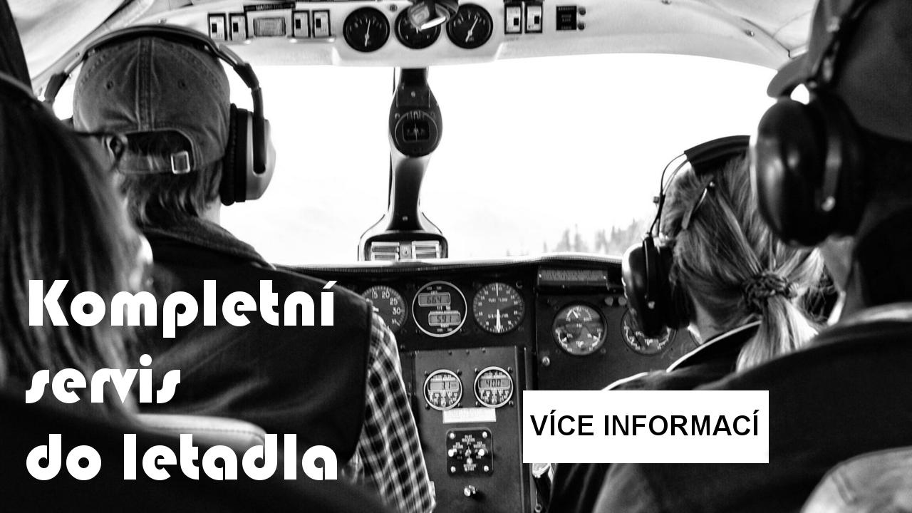 Kompletní řešení sluchátek do letadla - pro piloty i kompletní celky