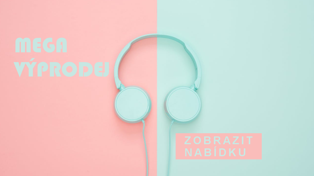 Výprodej sluchátek repasovaných nebo nových