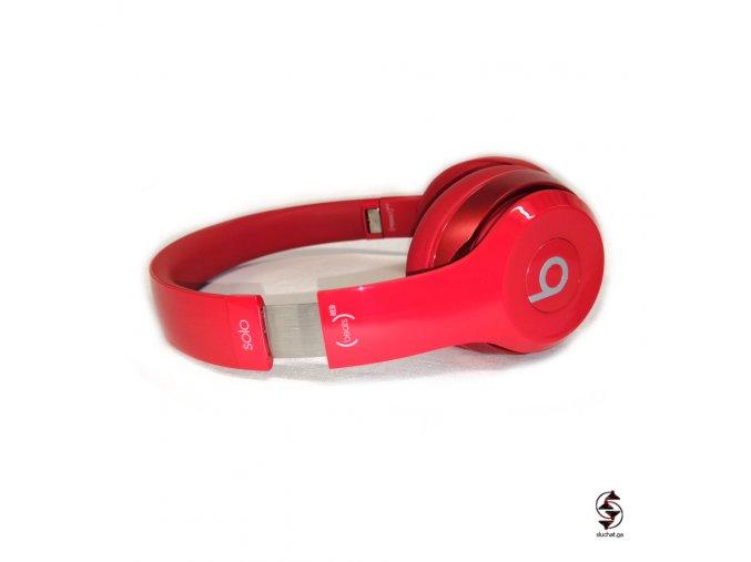 Sluchátka Beats Solo 2 kabelové product red v TOP stavu