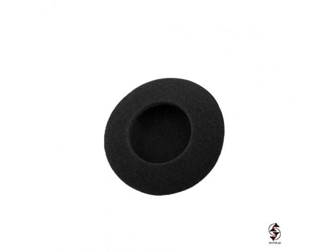 Molitanový náušník průměr 65 mm pro sluchátka s průměrem 70 mm