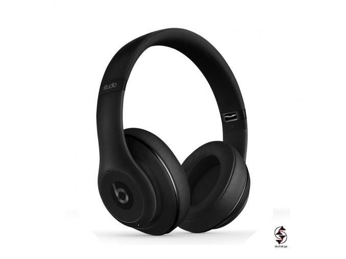 Matná černá sluchátka Beats Studio 2 - stav A