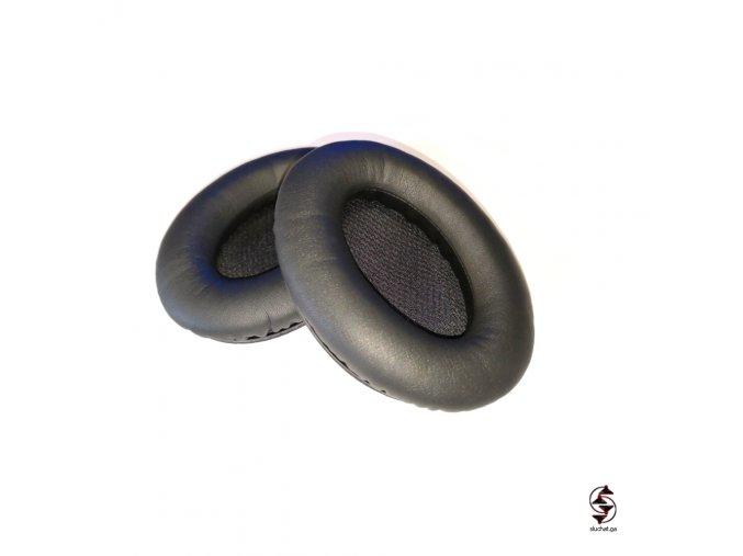 Molitanové náušníky s koženkovým povrchem pro sluchátka Bose QC15