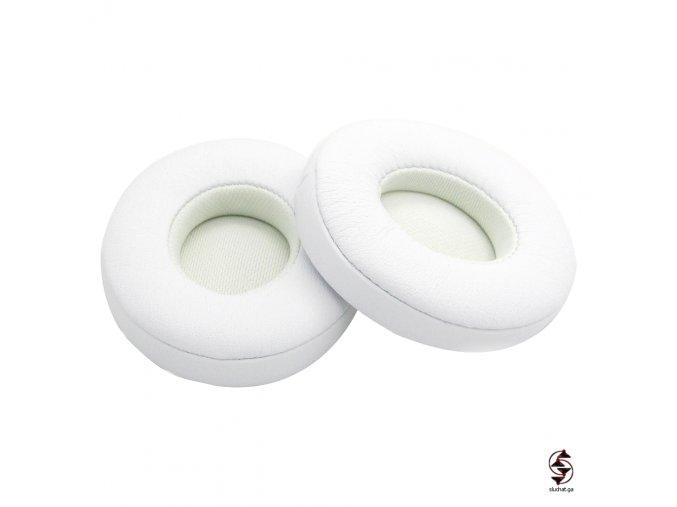Bílé molitany pro sluchátka Beats Solo 2 a Solo 3 kabelové