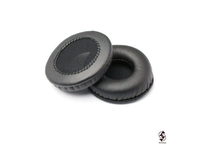 Univerzální koženkové náušníky s průměrem 75 mm