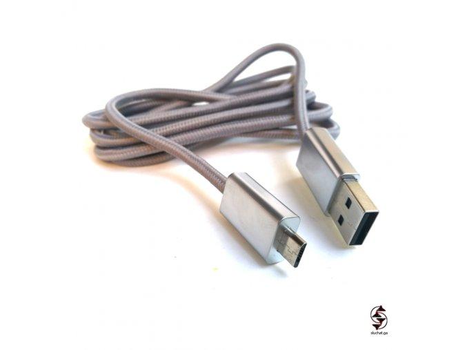 Dobíjecí kabel Parrot Zik 2 3 šedý