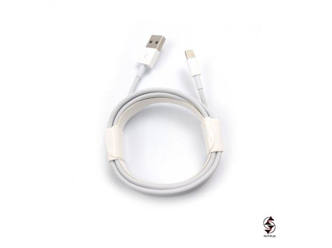 Originální nabíjecí kabel Apple Lightning pro sluchátka a Apple zařízení.