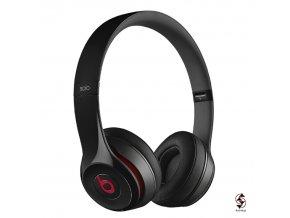 Beats Solo 2 Wireless v černé lesklé variantě - stav A