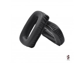 Vysoce kvalitní koženkové náušníky pro sluchátka Beyerdynamic DT100, DT102, DT108 a DT109