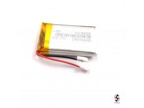 1600mAh univerzalni baterie 30x47x10mm w 1000