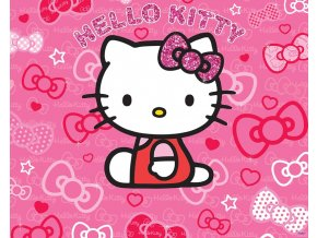 Walltastic(TM) 3D Tapeta - HELLO KITTY