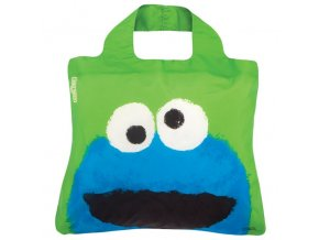 Ekotaška ENVIROSAX Sesame Street Bag No.3 COOKIE MONSTER