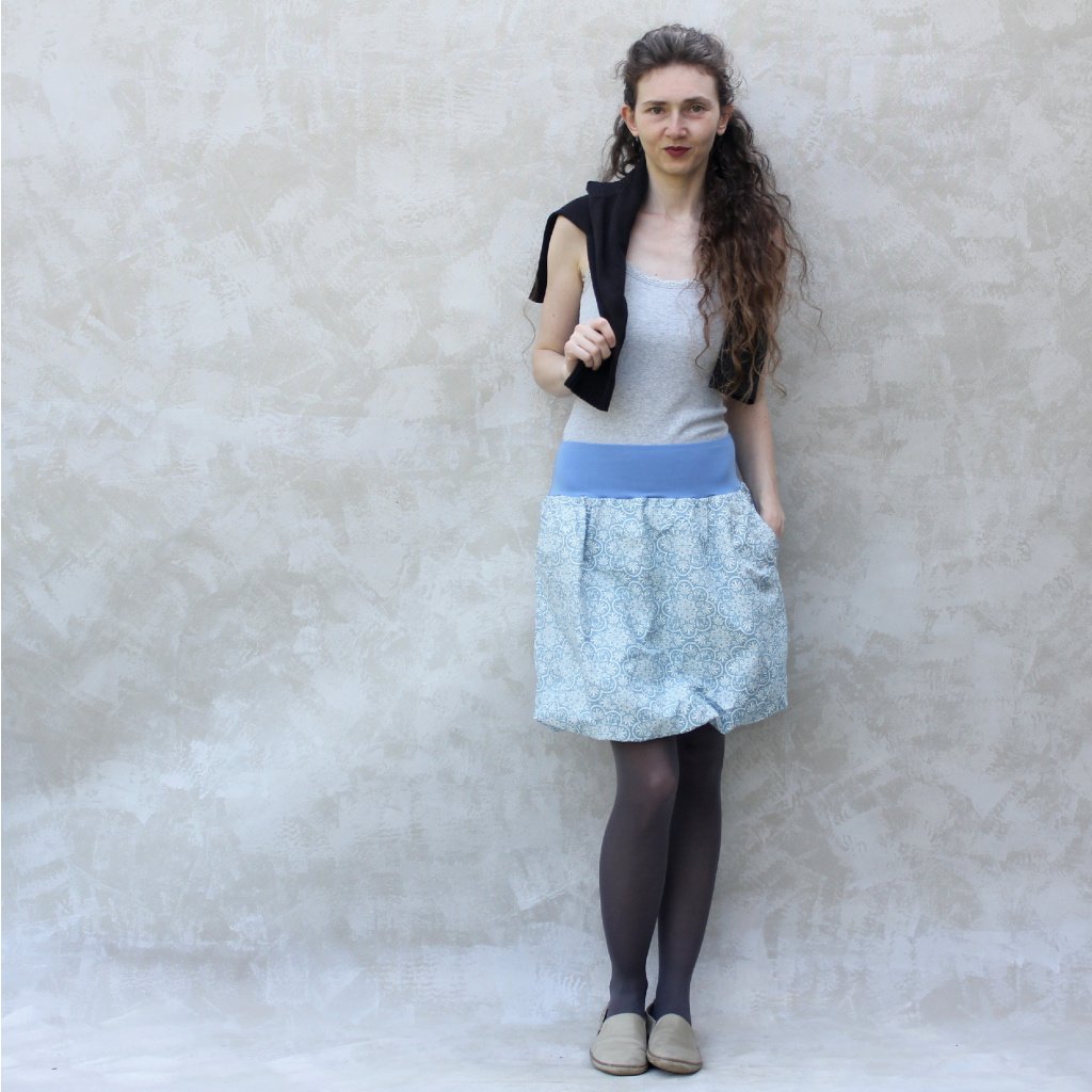 Vytrvalá žena - modrá