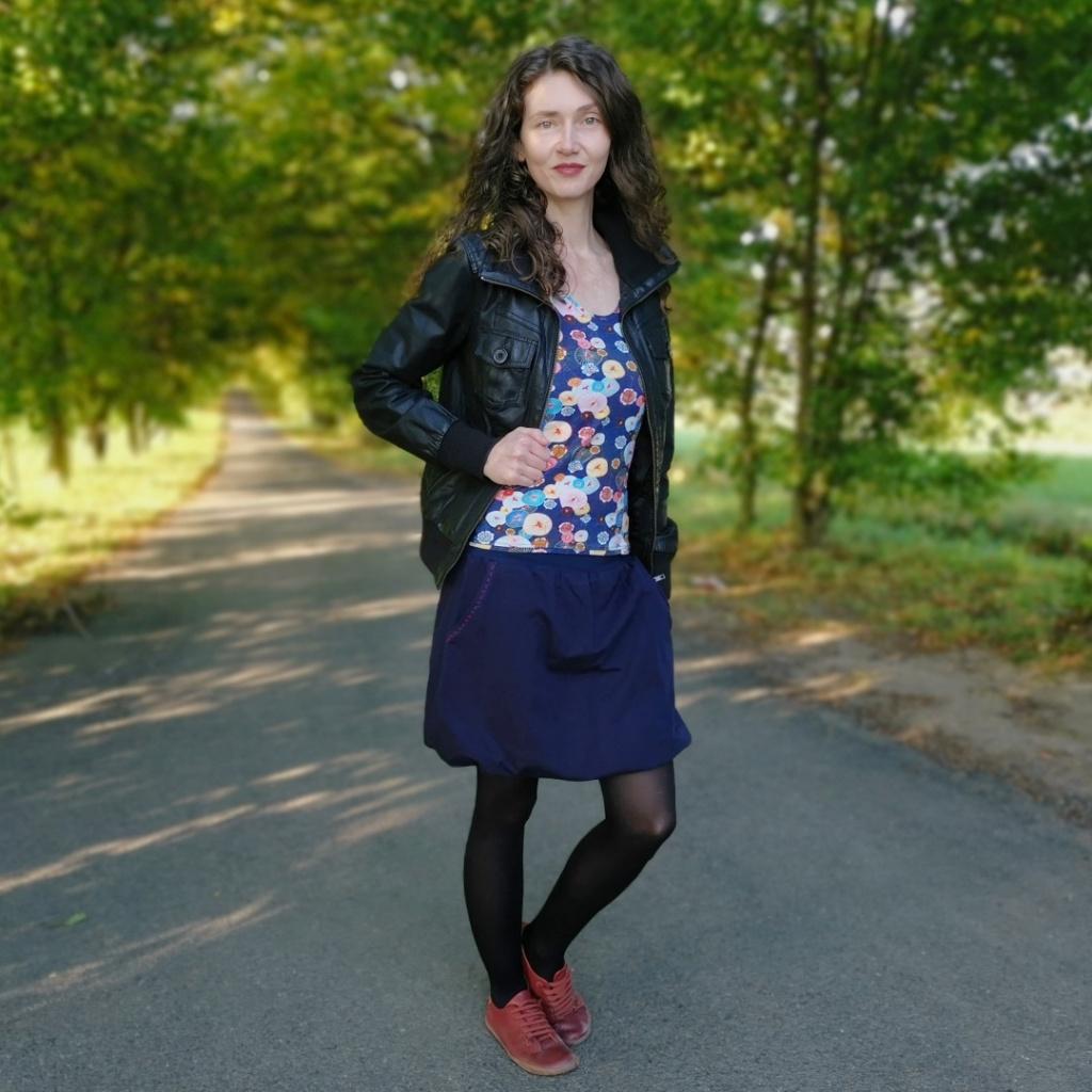 podzimní sukně