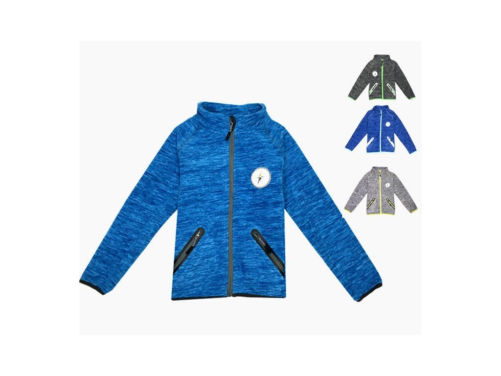 k6105 outdoor fleece mikina 98 128 24ks 160kc