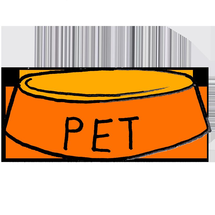 Psí + kočičí misky
