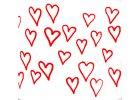 Srdce a puntíky smalt