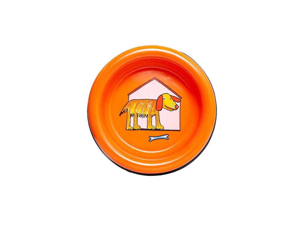 smaltovana miska pes bouda oranzova removebg preview