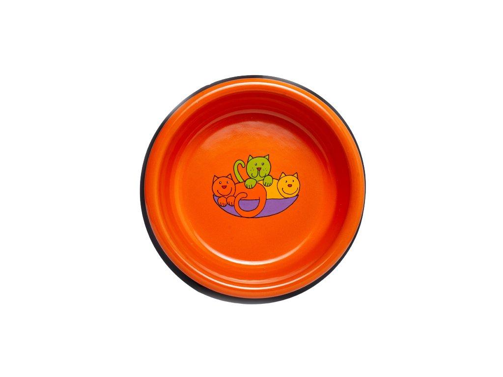 Smaltovana miska oranzova kocka removebg preview