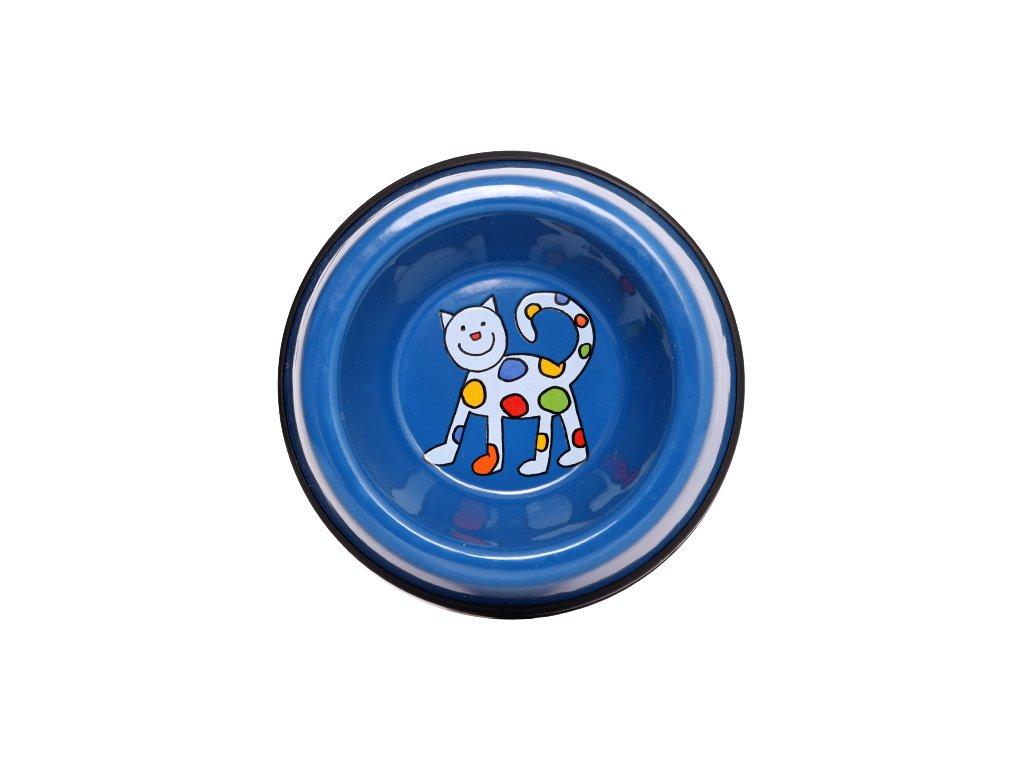 Smaltovana miska kocka modra mala 2 removebg preview